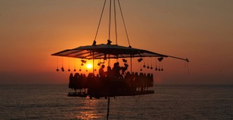Llega en febrero Dinner in the Sky a Puerto Vallarta