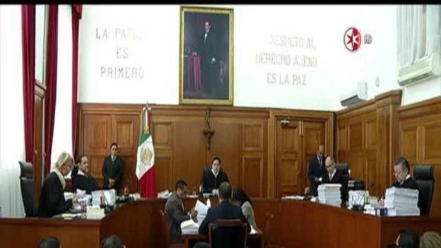 La primera sala de la Suprema Corte de Justicia de la Nación (SCJN) resolvió (con el voto en contra