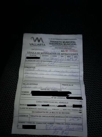 -Tránsito Municipal sigue multando a los choferes
