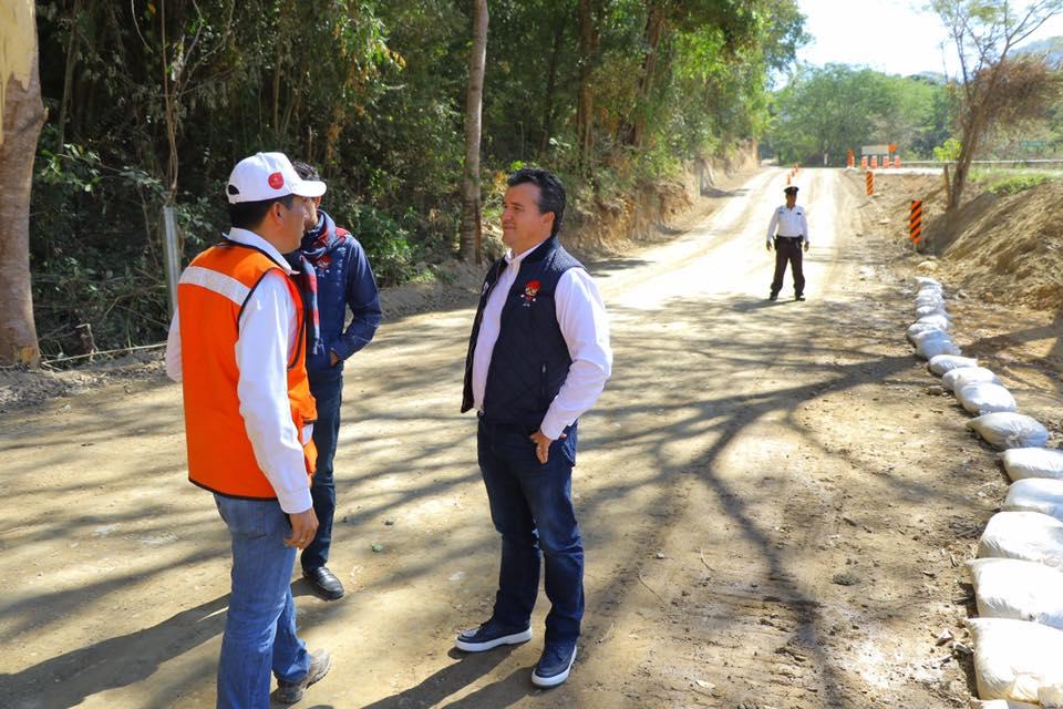 - La Secretaría de Infraestructura y Obra Pública muestra avances de la obra