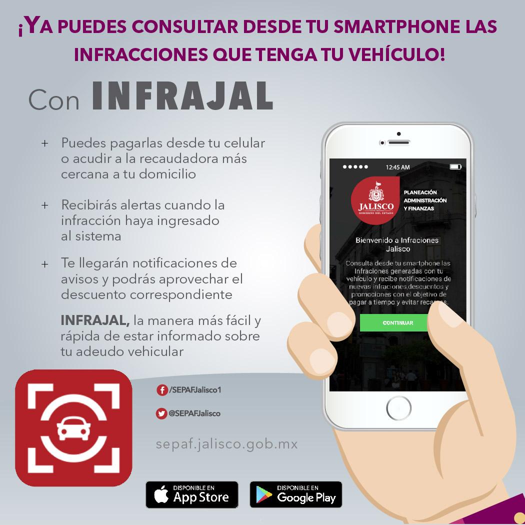 · A través del celular, automovilistas sabrán cuando una nueva infracción sea capturada