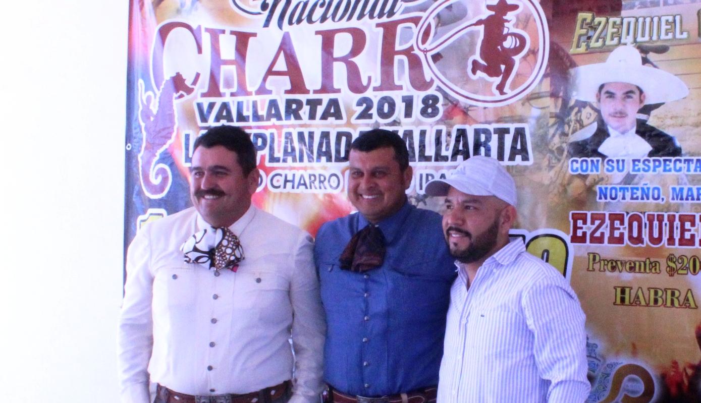 -El sábado al final de las competencias, se tendrá el espectáculo del Charro de México, Cheque.